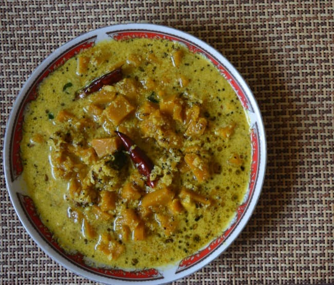 Mathanga Erissery |Kerala style Pumpkin Curry