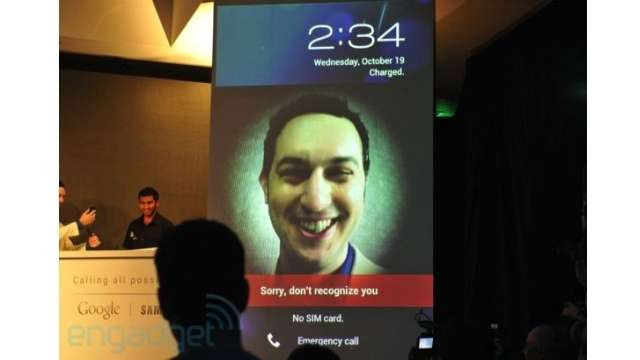 faceunlock Andoird ice cream Android 4.0 Ice Cream Sandwich announced [Android Next Update]
