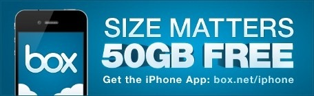 iphone 50gbfree thumb Box.net Offers 50 GB Free for iPad and iPhone users