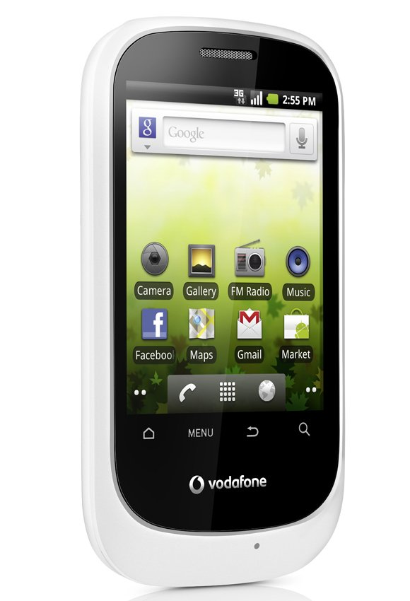 vodafone smart 3g android Vodafone Smart 3G Android Budget Phone Unveiled @ Rs.5000