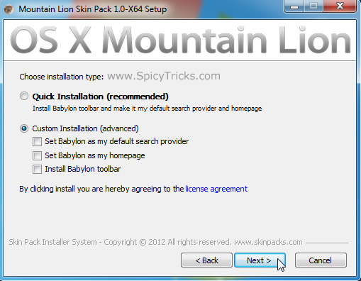 Mac Mountain Lion How To Transform Windows 7 Into Mac OS X 10.8 Mountain Lion UI