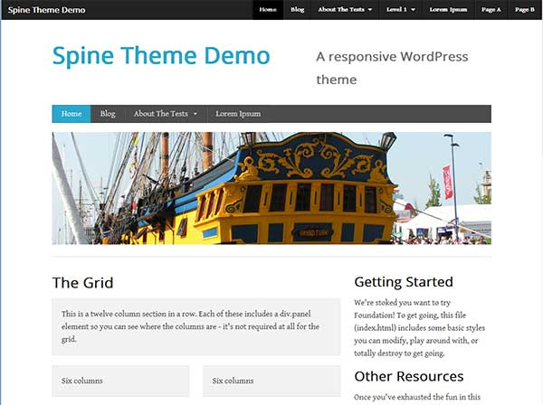 Spine Free WordPress themes 10 Best Free WordPress Themes for 2013 March