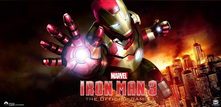 Official IRON MAN 3 Game Released for Android & iOS