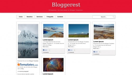 bloggerest blogger template Top 10 Beautiful Adsense Optimized Blogger Templates for April 2013