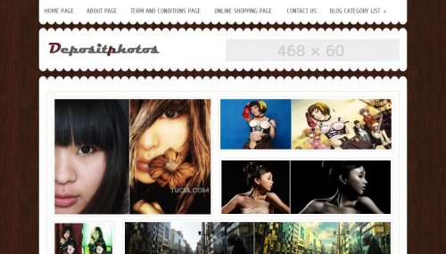 deposit photos blogger template Top 10 Beautiful Adsense Optimized Blogger Templates for April 2013