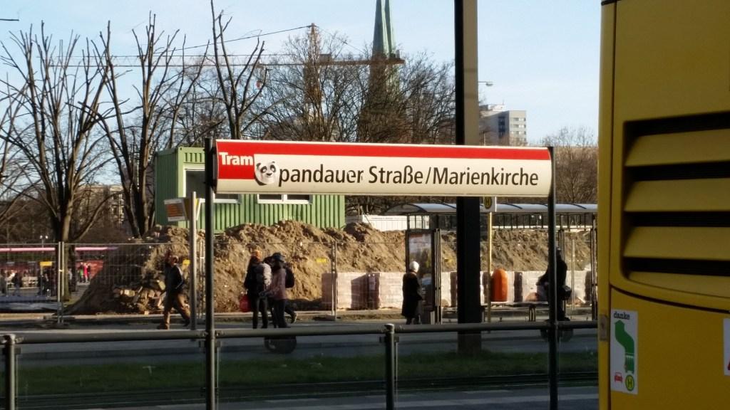 Streetart: PANDAuer Str. / Marienkirche