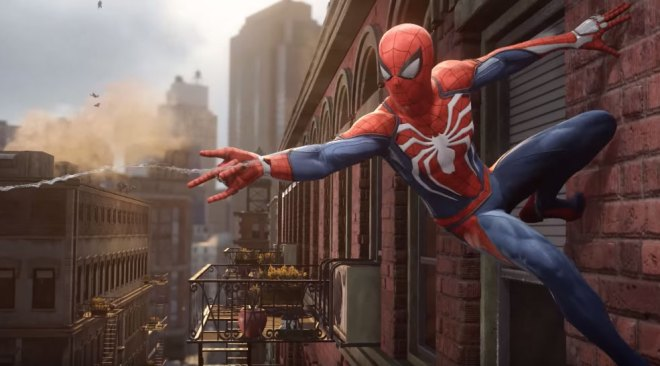 New PS4 Exclusive Spider-Man Video Game