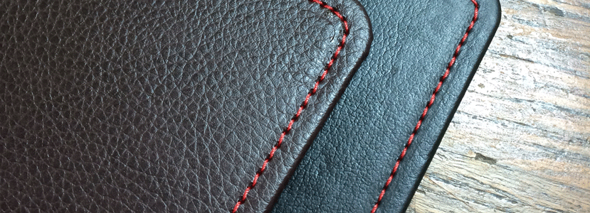 stitched detail on book covers
