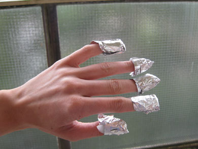 how to get shellac off hands