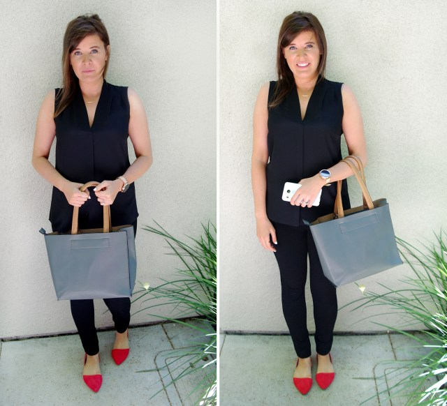 Stand-with-purse