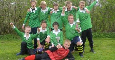 Jongensteam schoolvoetbal 2012