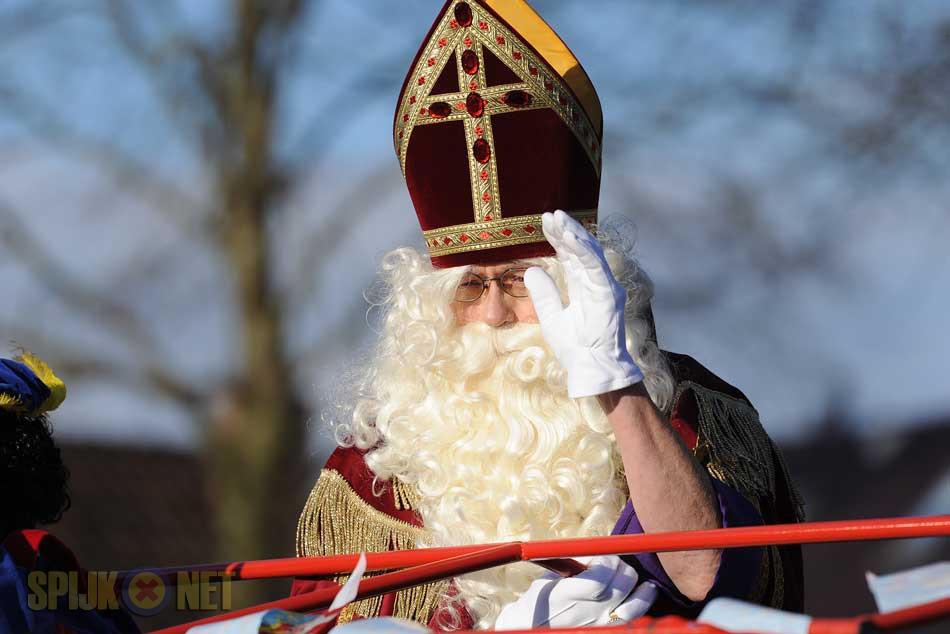 Sinterklaas onderweg naar Spijk!