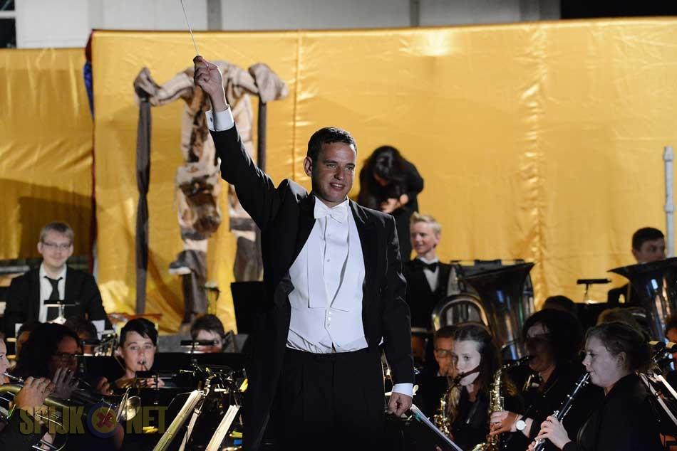 Weergaloos grachtenconcert van Muziekvereniging CBS