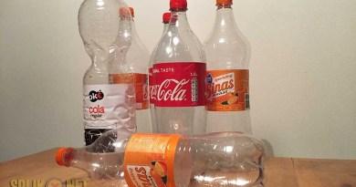 lege flessen actie