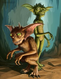 two gremlins