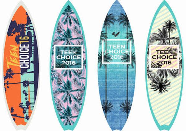 2016 Teen Choice Surfboard Options 2
