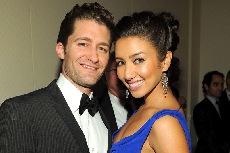 MMorrisonRPuente 900 600 05 08 12 Matthew Morrison e Renee Puente estão casados