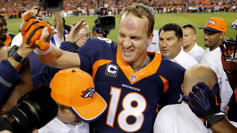 peyton Audiência nos EUA | 23 10 2014 | O fim da temporada da NFL nas quintas da CBS