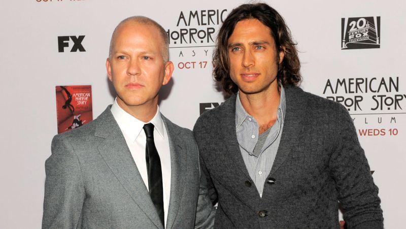 ryan murphy brad falchuk a l Scream Queens: Fox aprova nova série de Ryan Murphy