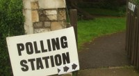 Pollingstation, photo by Matt Brown