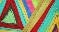 Fabric triangles,