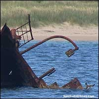 Orkney blockade ship