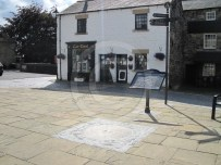The market square in Haltwhistle