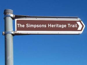 The Simpsons Heritage Trail