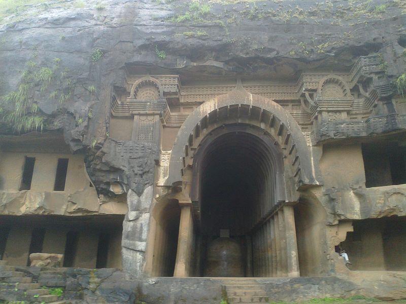 Bhaja-Caves-facade