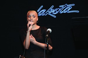 Rising artist Ashley DuBose gave a standout performance at BMA's anniversary celebration.
