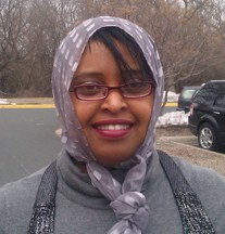 Idil Abdul Photo by Michelle Lawrence