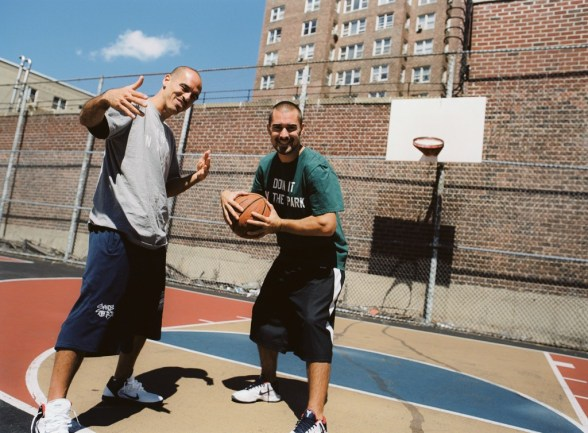 """Doin' It In The Park co-directors Robert """"Bobbito"""" Garcia and Kevin Couliau"""