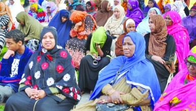 On Thursday, July 24, Minneapolis Somali community members gathered at Cedar Riverside for a memorial for Saado Ali Warsame.