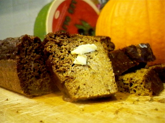 Grain-Free Pumpkin Spice Bread
