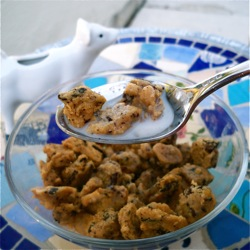 High Protein Cookie Crisp Cereal