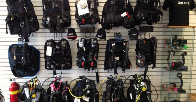 Action Scuba montreal PADI Dive shop 4