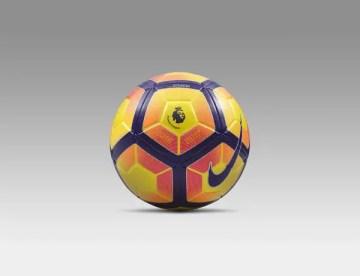 Una immagine del nuovo pallone Nike per la Premier league inglese