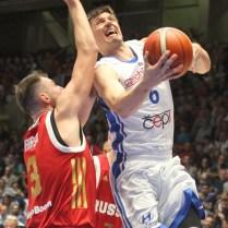 Česká republika Rusko kvalifikace na MS v Čině basketbal Pavel Pumprla foto CPA