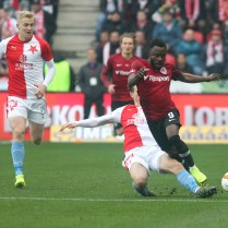 14.4.2019 SK Slavia Praha versus AC Sparta Praha fotbalove 291. derby Photo by CPA