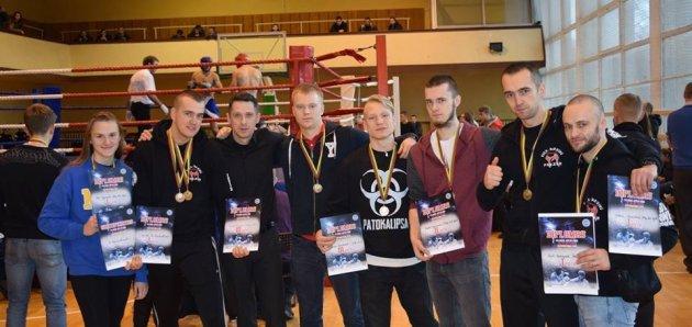 Ekipa Panzera wywalczyła 18 medali na turnieju w Wilnie
