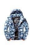 SUPERDRY SNOW COMMAND UTILTY HOOD JACKET BLACK ICE CAMO