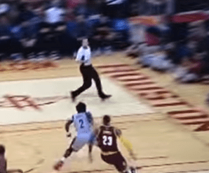 WATCH: LeBron James poster dunk fails in bizarre way!