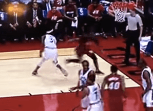 Dwayne Wade puts on SICK move leaving Terrence Ross lost
