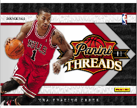 2010/11 Panini Threads NBA Basketball Hobby Box