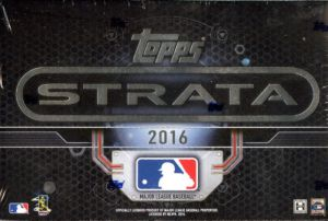 2016 Topps Strata Baseball Sealed Hobby Box