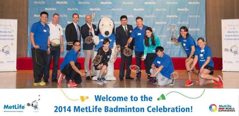 MetLife to Teach Life Skills via Badminton