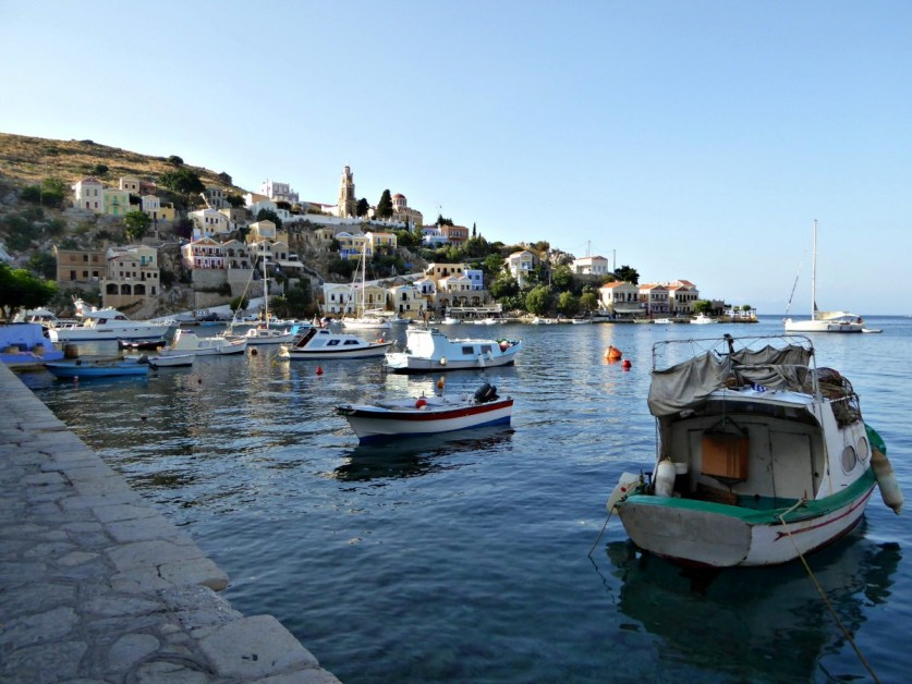 Symi harbour edited