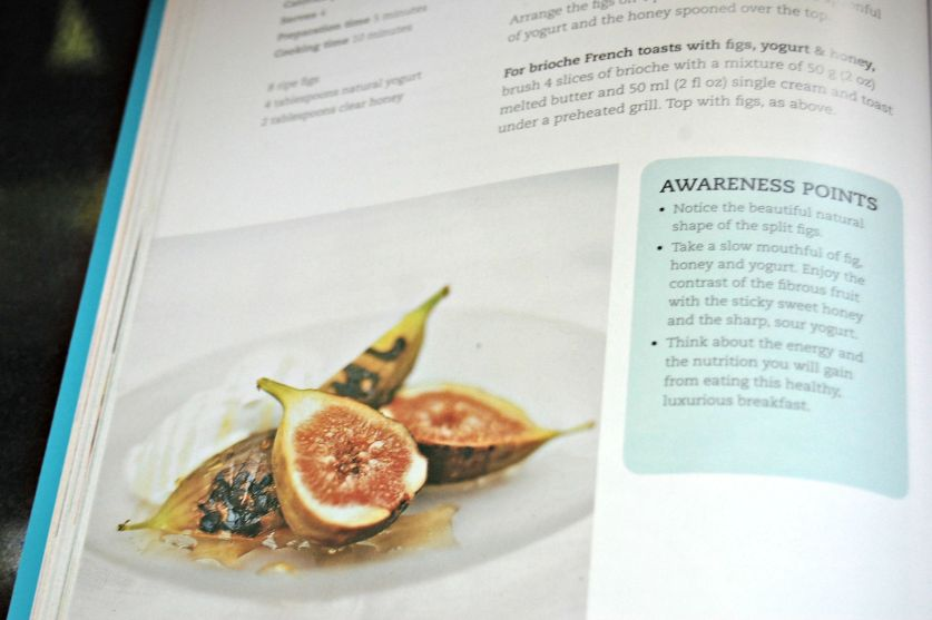 Mindfulness cookbook sample page