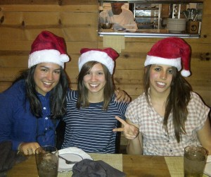 Gab Friends Santa Hats