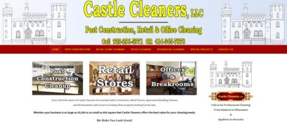 castle cleaners home